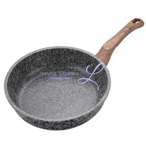 Elements Non-Stick Mult- Purpose Frying Pan 20-28 Cm ( Without Cover ) 20Cm / A Cookware