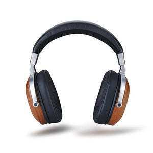 Headset - BOSS HIFI B8 Genuine Luxury All Natural Over Ear Black Mahogany Headset