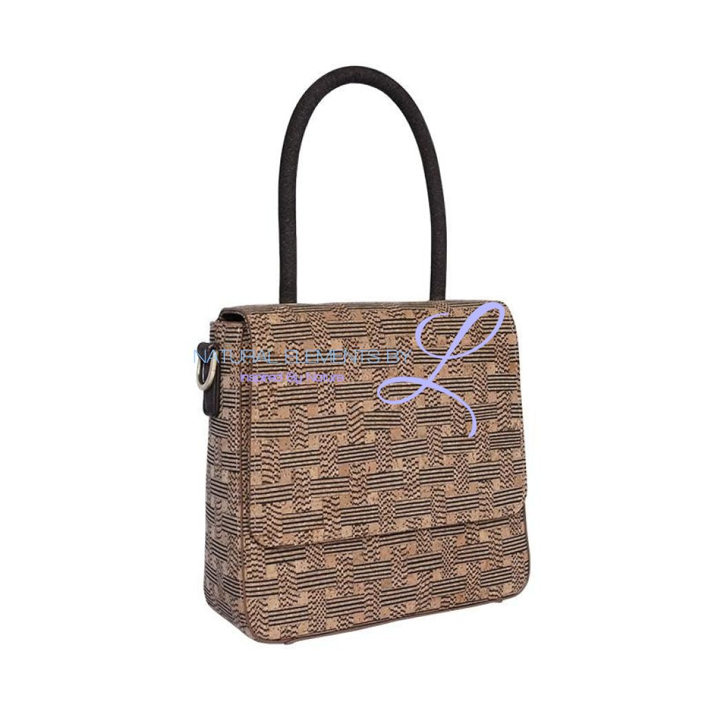 Lacy Luxury Handmade Natural Cork Designer Handbag Handbags