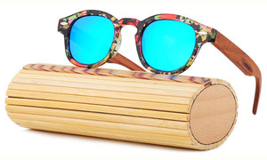 Ladies Sunglasses - Bamboo Sun Glasses Fashion Bamboo Wood Sunglasses Polarized UV400 LS5002