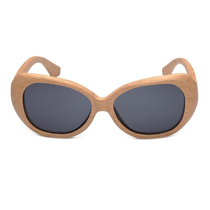 Ladies Sunglasses - BOBO BIRD Handmade Wooden Pilot Sunglasses