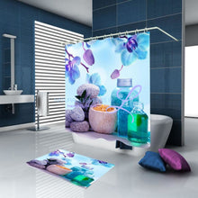 Luxury Butterfly / Red Rose 3D Waterproof Shower Curtain Style4 W150Cm X H180Cm