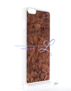 Mmore All-Natural Wood Mechanism Phone Case Iphone 5/5S/se / White