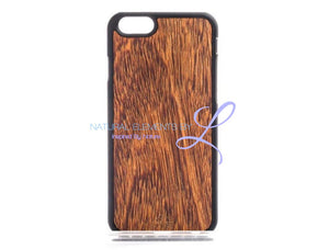 Mmore Natural Sucupira Wood Phone Case Iphone 5/5S/se / Black Case