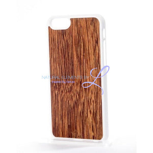 Mmore Natural Sucupira Wood Phone Case Iphone 5/5S/se / White Case
