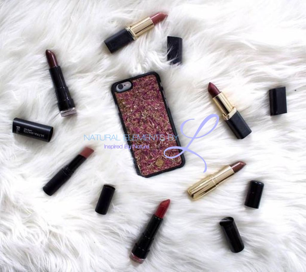 Mmore Organika Roses Phone Cases Iphone 5/5S/se / Black Case