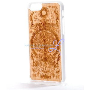 Mmore Wood Tree Of Life Phone Case Iphone 5/5S/se / White Smartphone