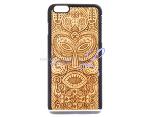 Mmore Wood Tribal Mask Phone Case Iphone 5/5S/se / Black