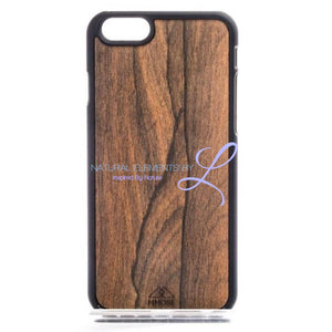 Mmore Wood Ziricote Phone Case Iphone 5/5S/se / Black