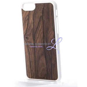 Mmore Wood Ziricote Phone Case Iphone 5/5S/se / White