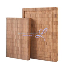 Natural Bamboo Chopping Block Rectangle Thick