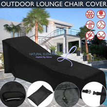 Natural Elements Outdoor Cloth Lounge Chair Dust Cover Waterproof Protection Bag