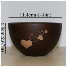 Natural Wooden Bowl