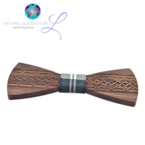 Natural Elements Wooden Bow Tie #5