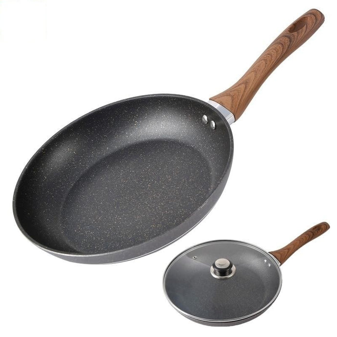 Natural Elements Stone Fry Pan Bakelite With/Without Glass Lid