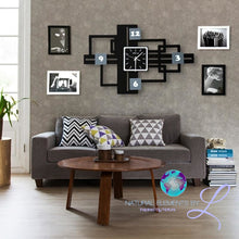 Memories Big Wall Clock With Photo Frame