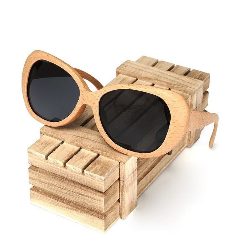 b830ee1d50 Ladies Sunglasses - BOBO BIRD Handmade Wooden Pilot Sunglasses