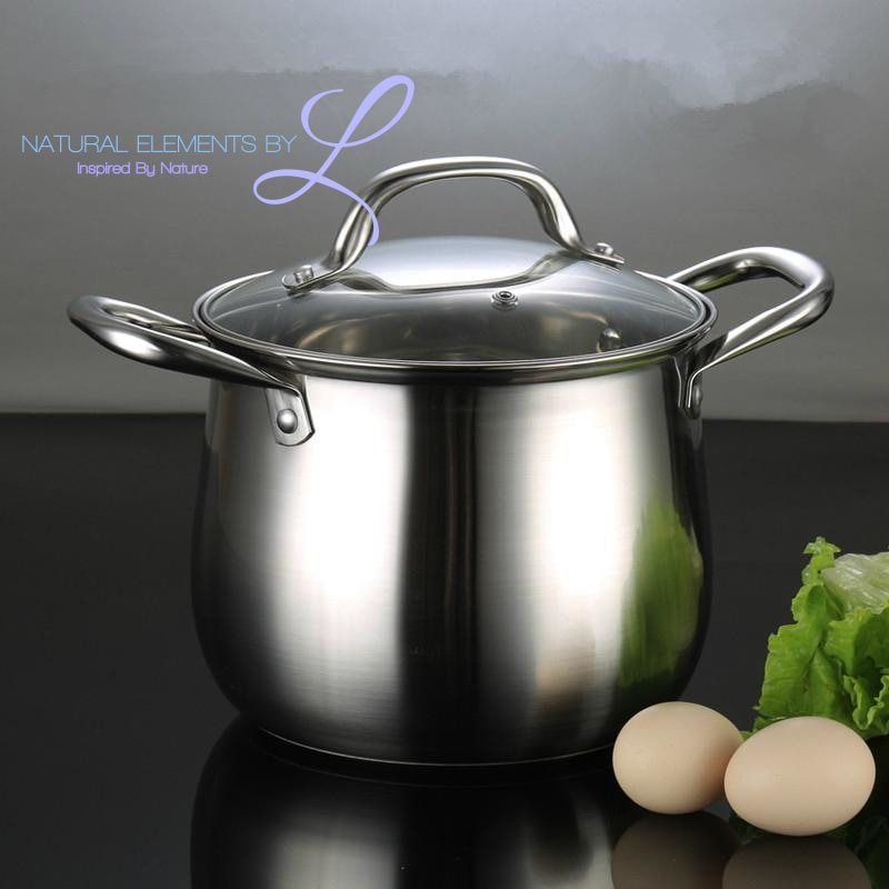 Natural Elements High Quality Stainless Steel Pot Thickness 20cm~26cm