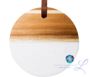 Nordic Style Simple Marble Solid Wood Seamless Cutting Board