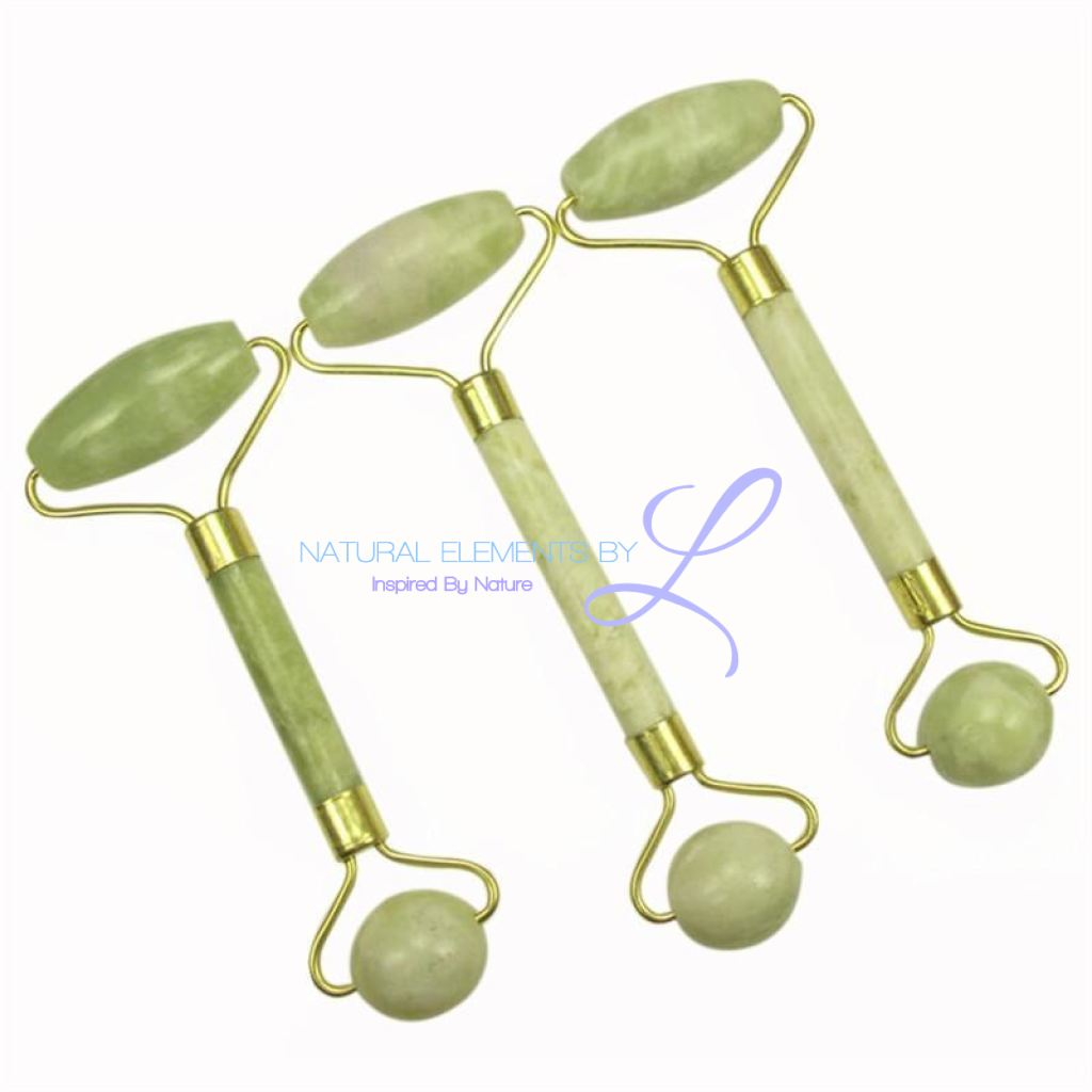 Natural Jade Massage Roller Beauty Device Tool