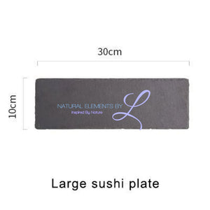 Natural Slate Serving & Baking Tray Large Sushi Plate