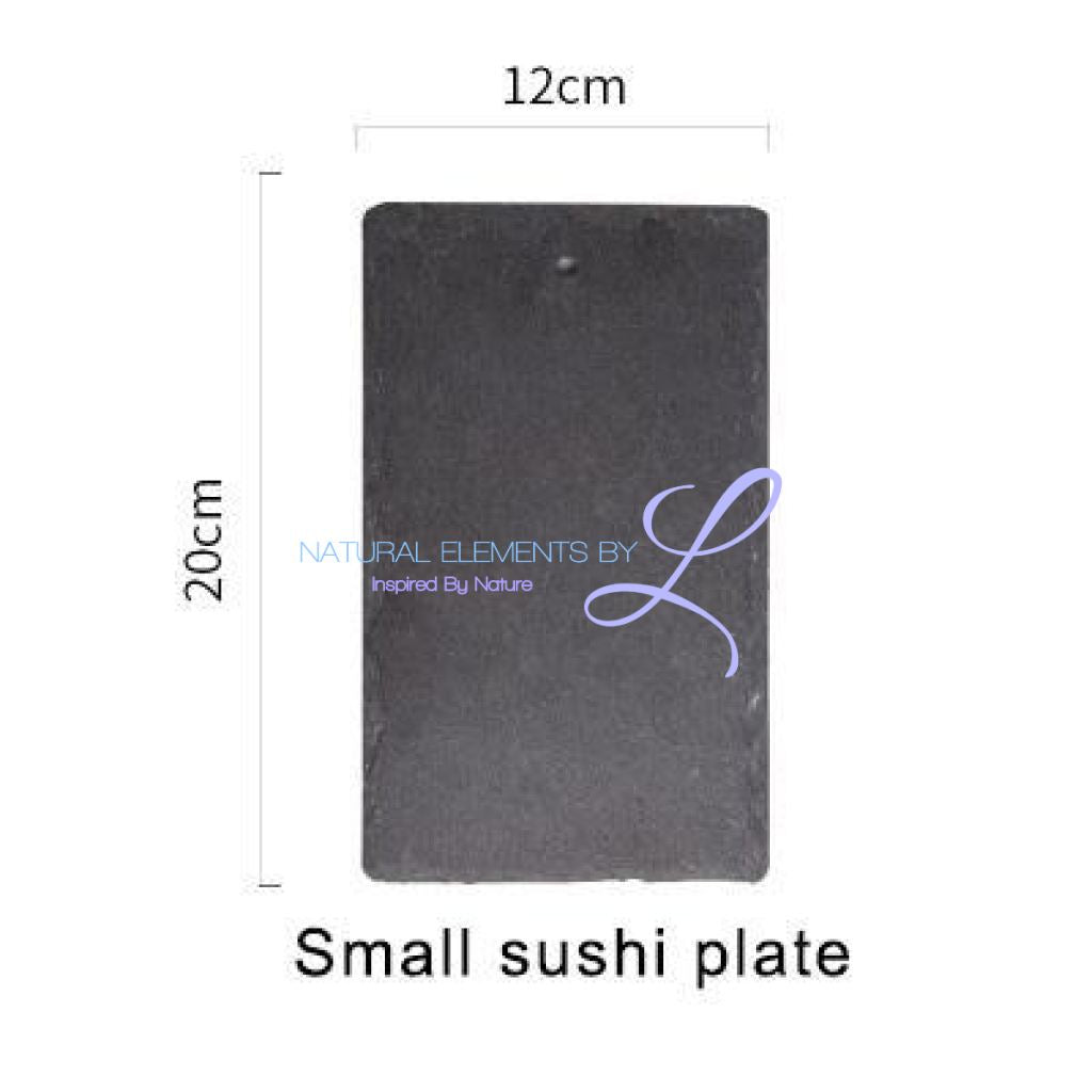 Natural Slate Serving & Baking Tray Small Sushi Plate