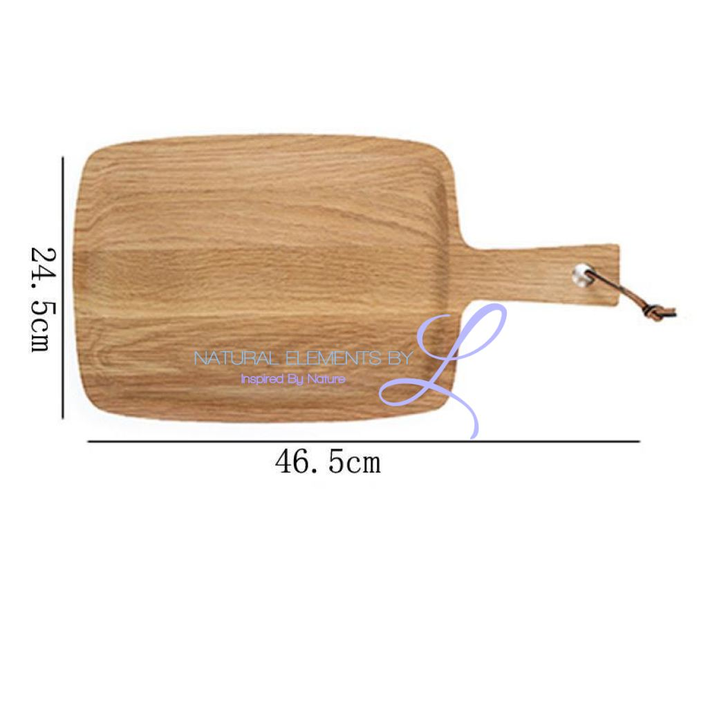 Natural Wooden Rectangle Bread Eco-Friendly Cutting Chopping Board Blocks_0
