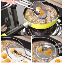 Multi-functional Filter Spoon Strainer Tongs
