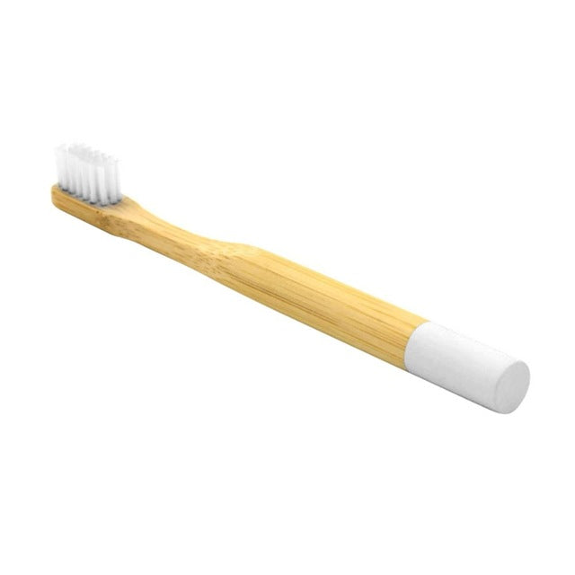 6 Colors Eco-friendly Bamboo Toothbrush Soft Bristle Kids Toothbrush
