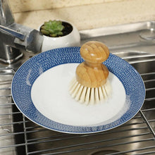 Natural Elements Bamboo Small Handle Pan Cleaning Brush
