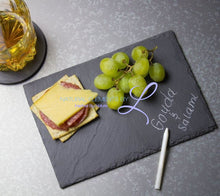 Rectangular Natural Slate Tray