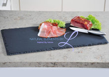 Rectangular Natural Slate Tray Show As The Picture / 25X12Cm