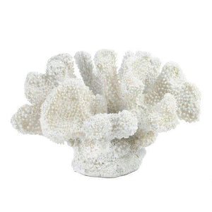 Small White Coral Decor (pack Of 1 EA)