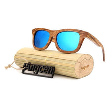 Sunglasses - Angcen Handmade Wooden Ladies Polarized Bamboo UV400 Sunglasses