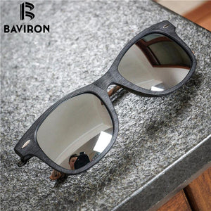 Sunglasses - BAVIRON Retro Wooden Classic Polarized Lens Anti-UV400 4210