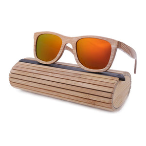 Sunglasses - BerWer Bamboo Wood Sunglasses