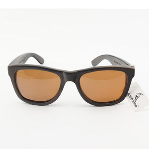 Sunglasses - BOBO BIRD 100% Natural Ebony Wooden Sunglasses Unisex Polarized