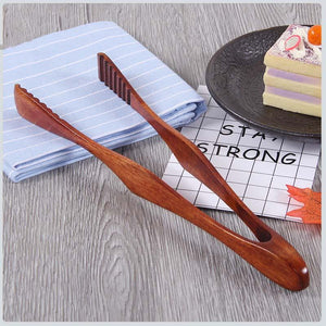 Tongs - Bamboo Cooking Kitchen Tongs
