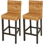 Natural Elements  Bar Stool 2 pcs Abaca Brown