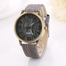 Watch - Women's Vintage Semi-Wood Grain Fashion Women Quartz Watch
