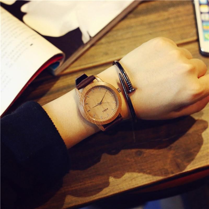 Waterproof Lovers Leather Wristwatches