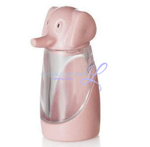 Wheat Straw Elephant Spice Jar Pink