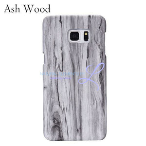Wood Phone Cases For Samsung Galaxy Models Ash / S6 Smartphone