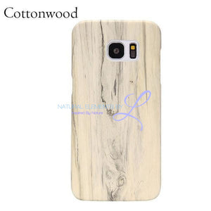 Wood Phone Cases For Samsung Galaxy Models Cottonwood / S6 Smartphone