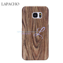 Wood Phone Cases For Samsung Galaxy Models Lapacho / S6 Smartphone