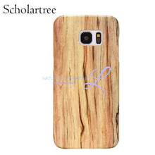 Wood Phone Cases For Samsung Galaxy Models Scholartree / S6 Smartphone