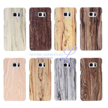 Wood Phone Cases For Samsung Galaxy Models Smartphone