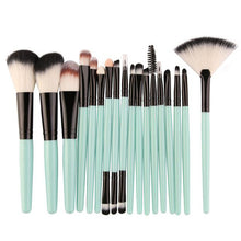Lot de 18 brosses de maquillage