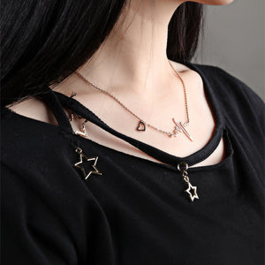 Collier battement de coeur