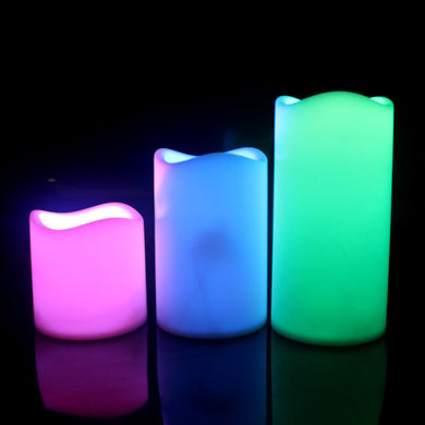 Bougie Led au parfum vanille ( 3 ièces )